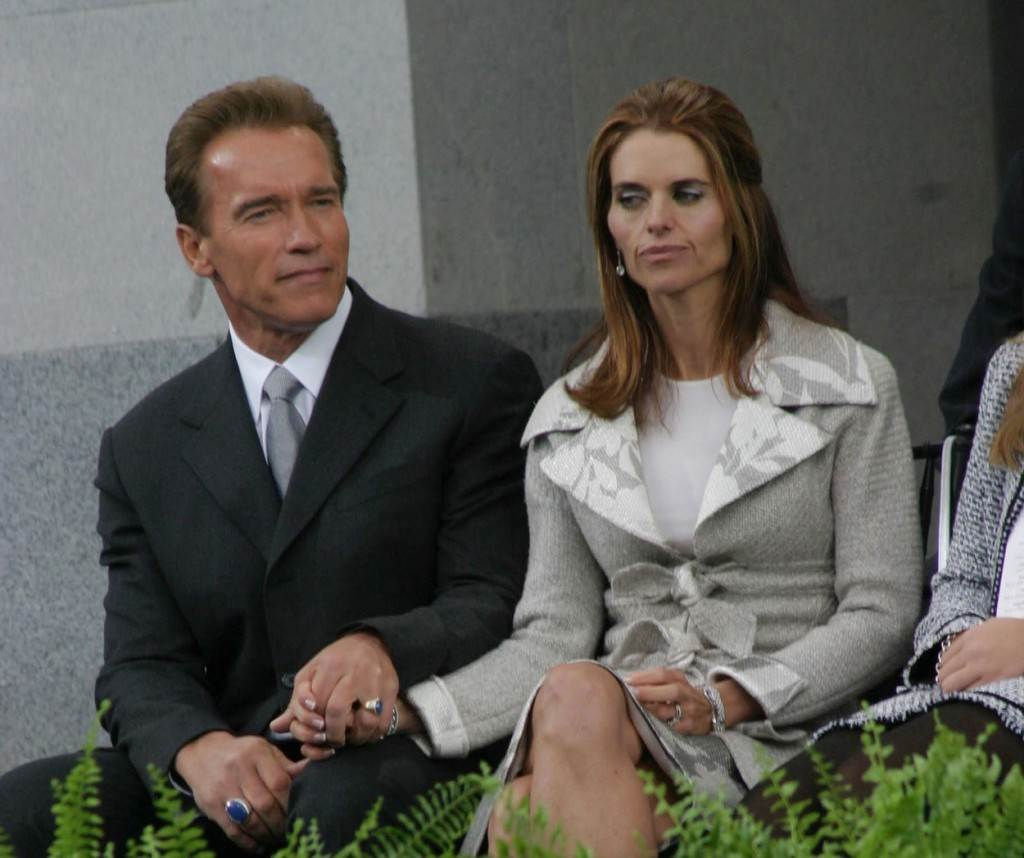 Arnold Schwazenegger i Maria Shiver