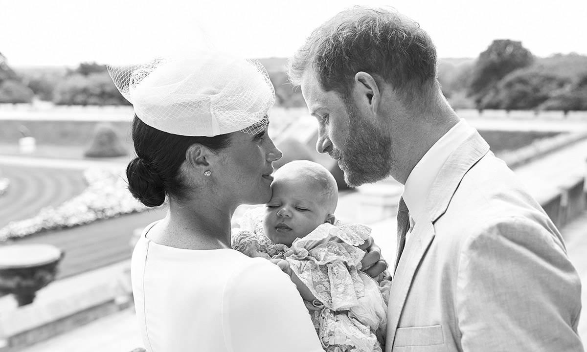 Meghan Markle i princ Harry na krštenju