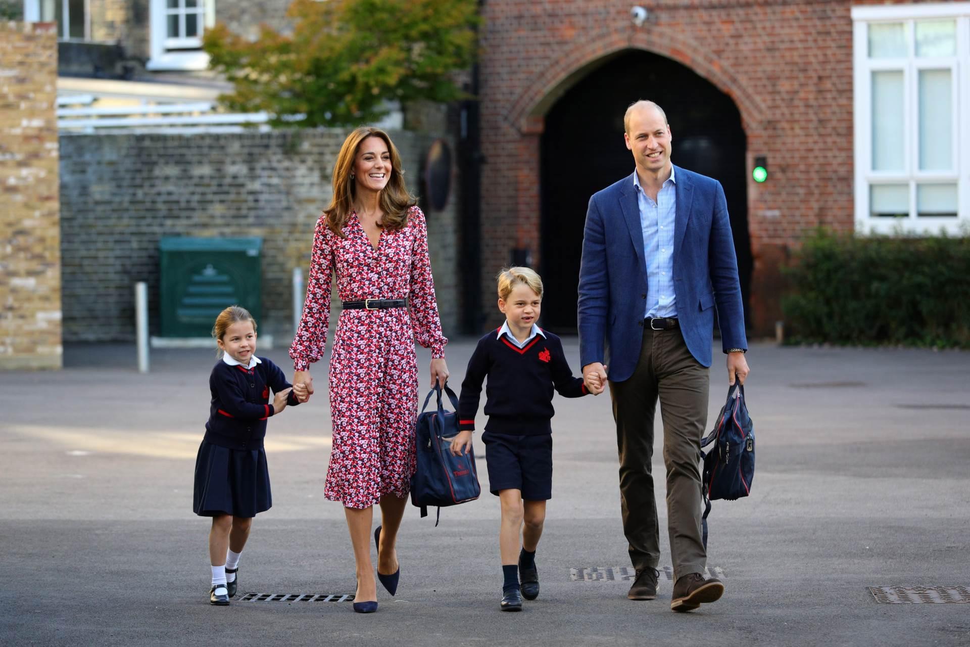 Kate Middleton, princ William i djeca