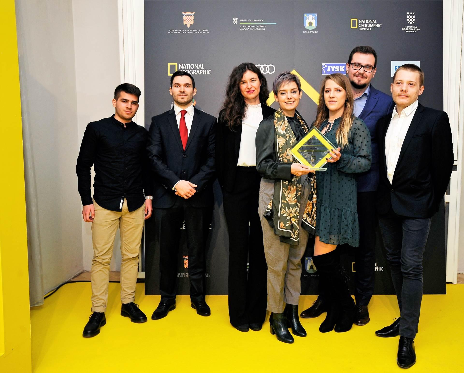 RE HUB Antun Čošković, Dominik Kruhak, Martina Martić, Leila Nanuk, Ivona Matković,Ivan Dajak, Borna Žganec