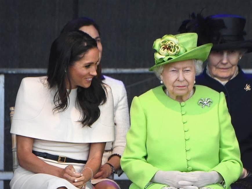 meghan i kraljica elizabeta