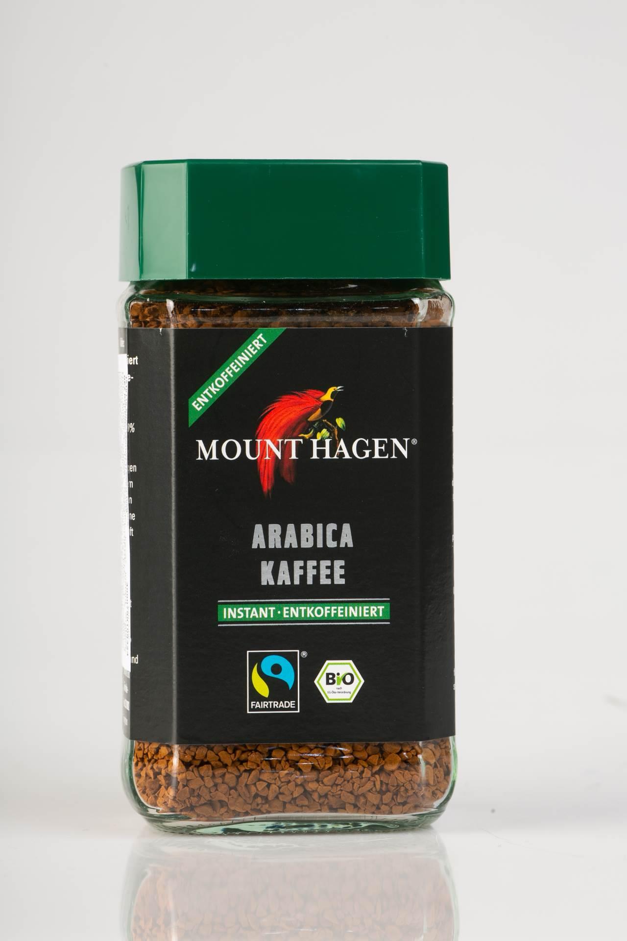 MOUNT HAGEN EKO kava instant bez kofeina 100g, dm TRAJNO DOBRA CIJENA 59,90 kn