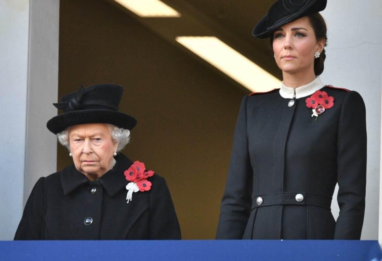 kraljica elizabeta kate middleton
