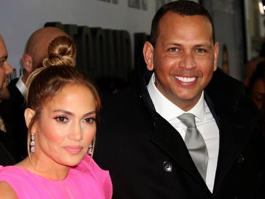 Jennifer Lopez i Alex Rodriguez nekad