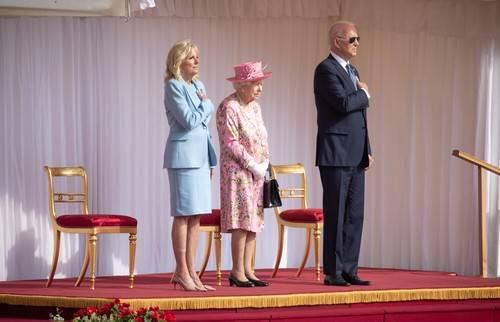 kraljica elizabeta joe biden