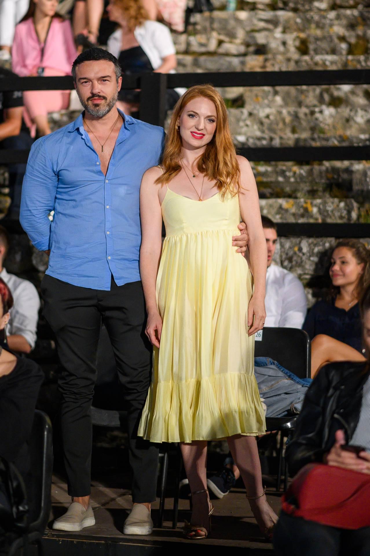 Natasa Janjic Medancic sa suprugom