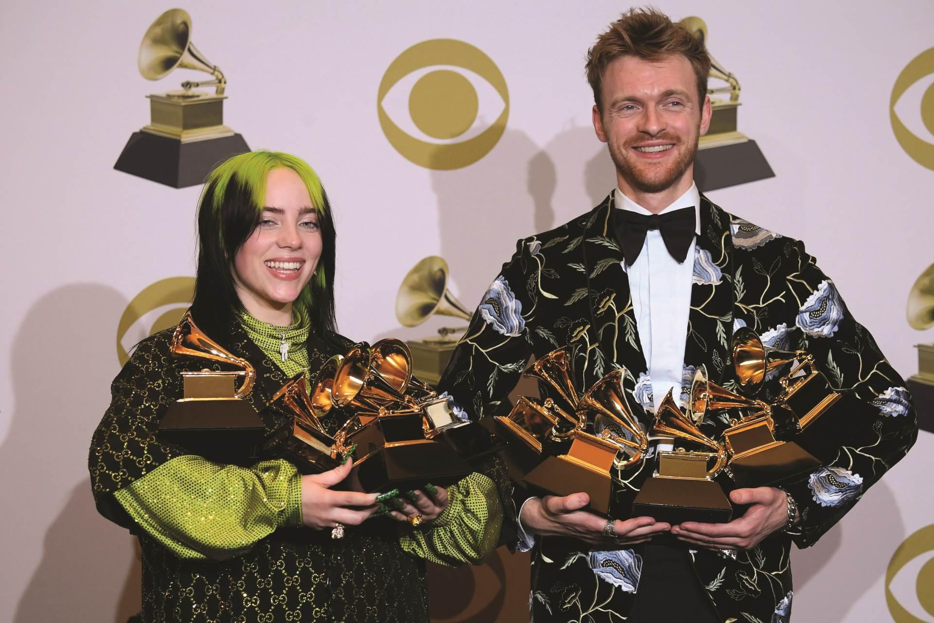 Billie je visestruka dobitnica Grammyja