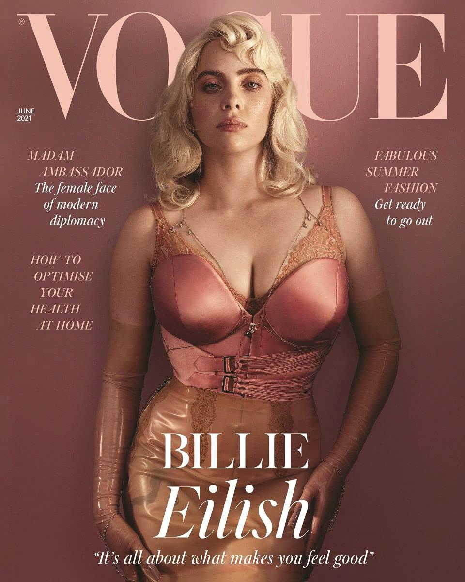 Billie na naslovnici Voguea