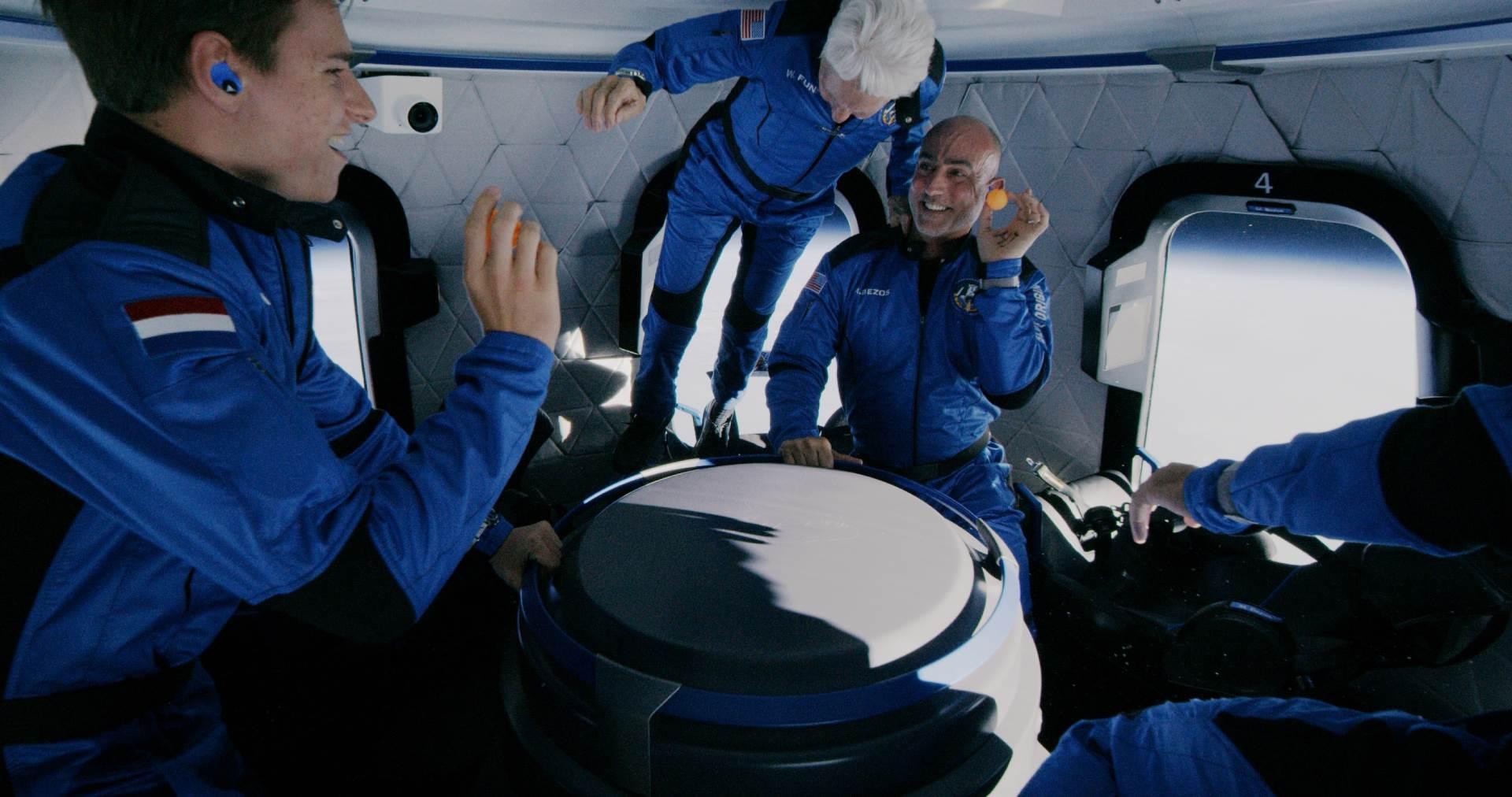 Blue Origin tim u svemiru