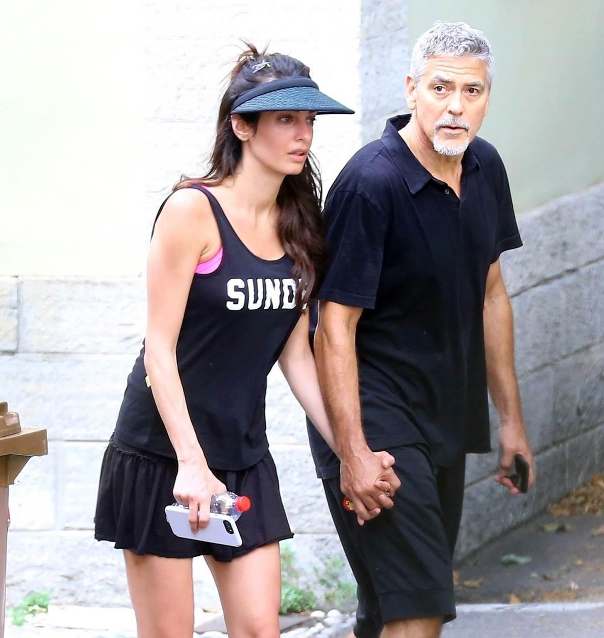 Amal i George Clooney na odmoru