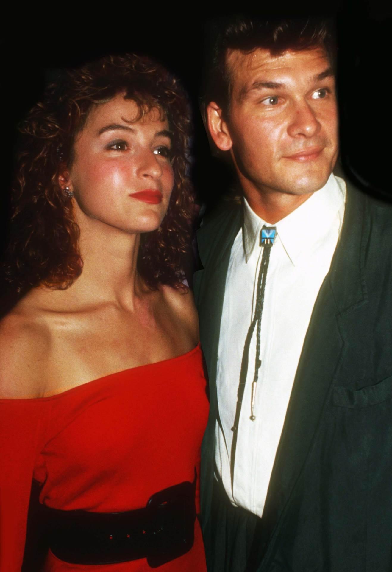 Patrick Swayze i Jennifer Grey