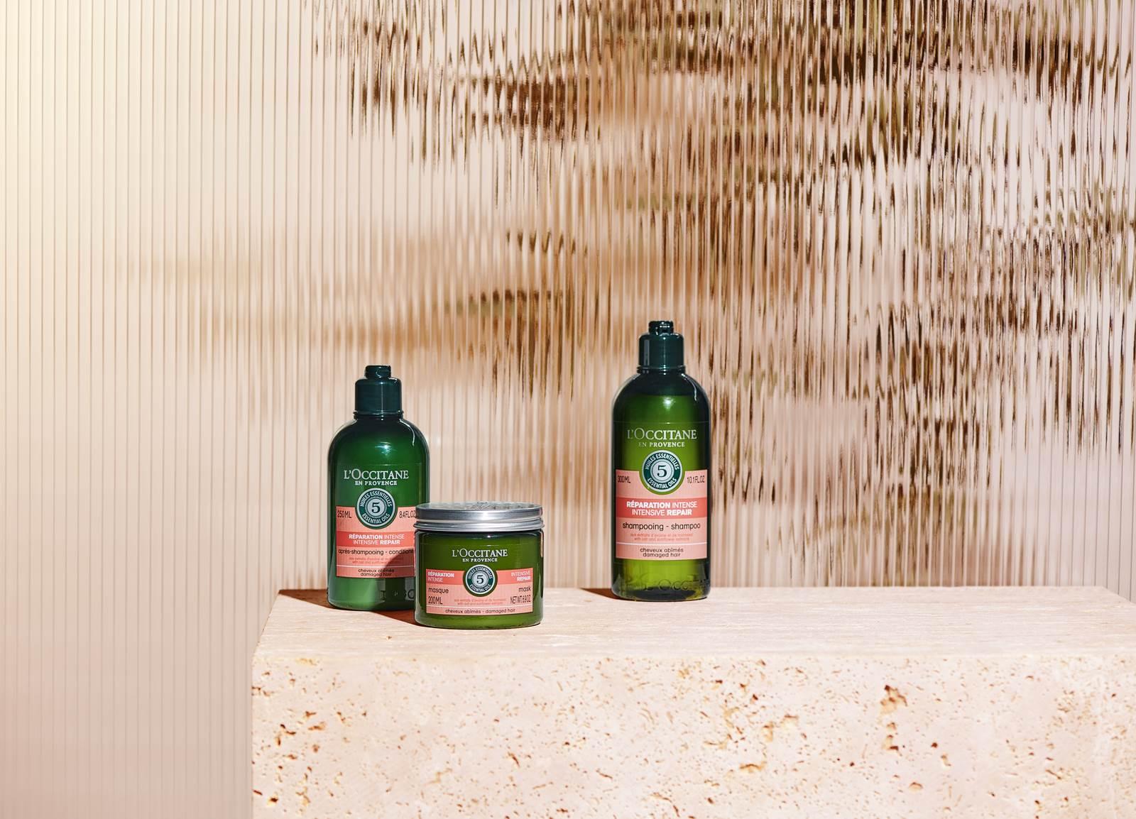 Šampon, maska, balzam za intenzivno obnavljanje kose