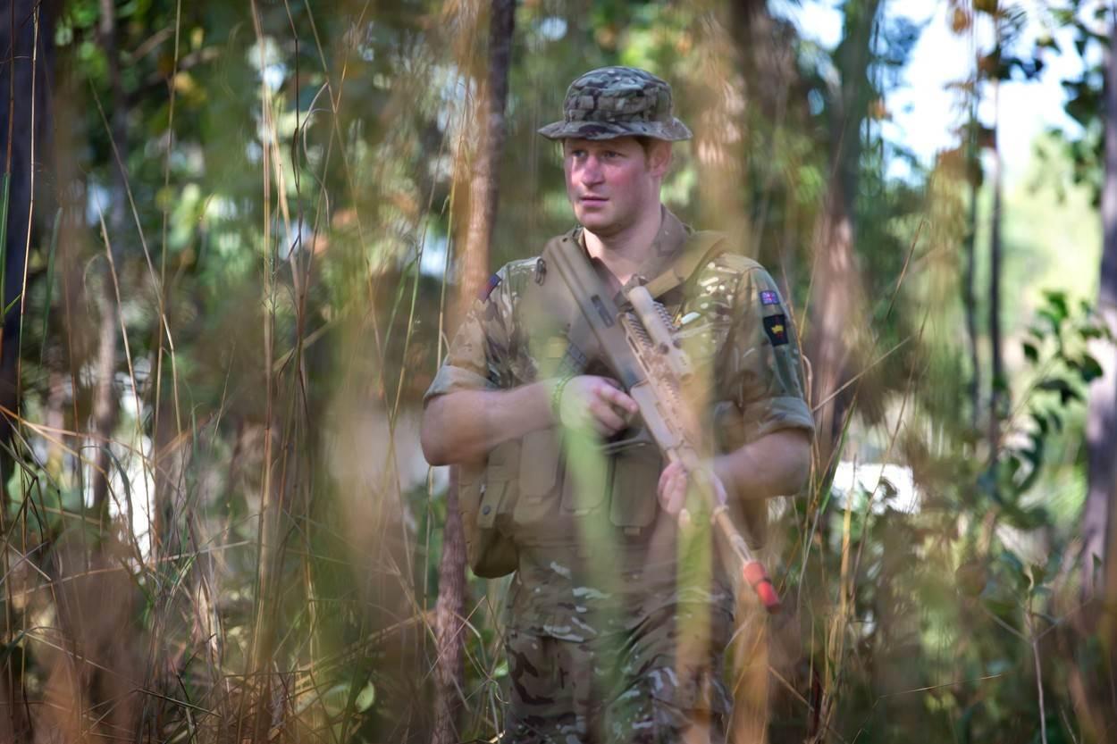 Princ Harry služio je vojnu službu u Australiji 2015.