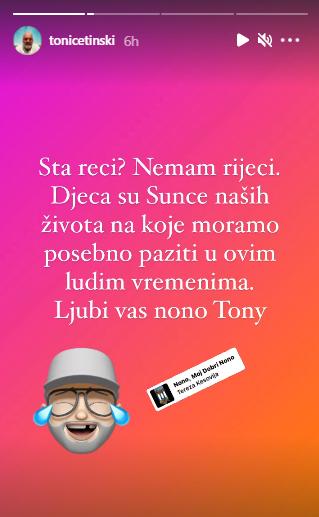 Tony Cetinski postao djed