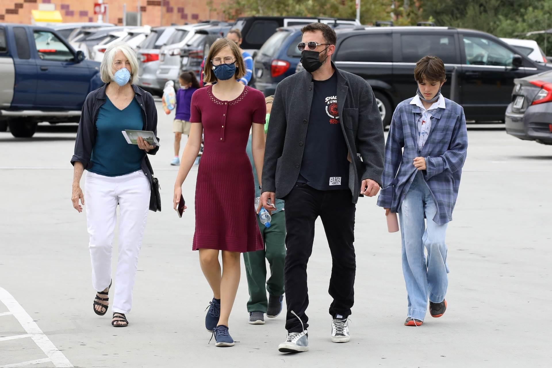 Ben Affleck s obitelji