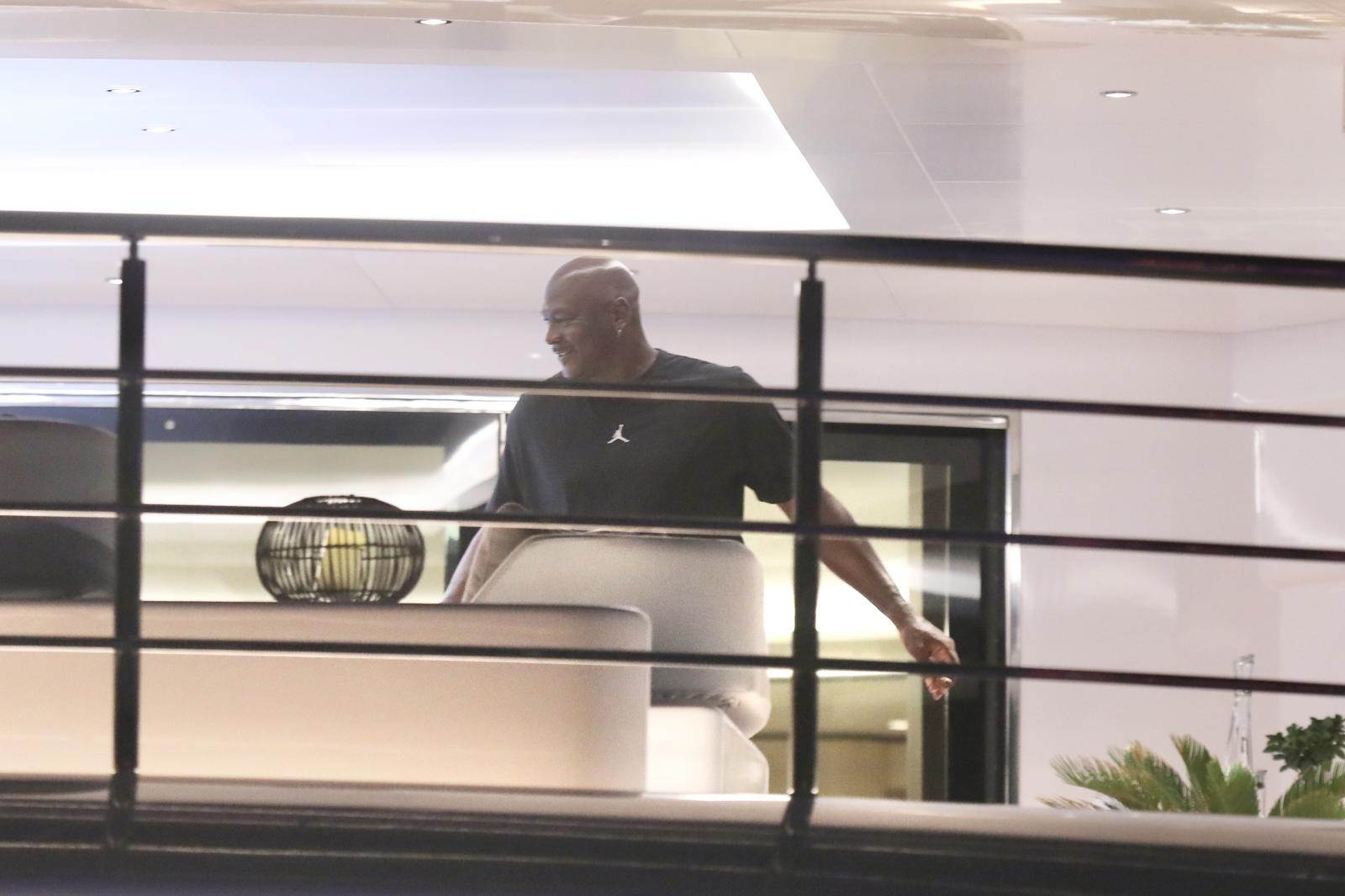 Michael Jordan u Splitu na superjahti