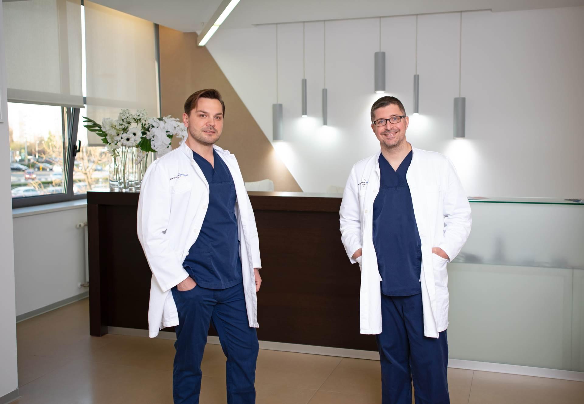 Dr. sc. Johann Nemrava i dr. sc. Dinko Bagatin