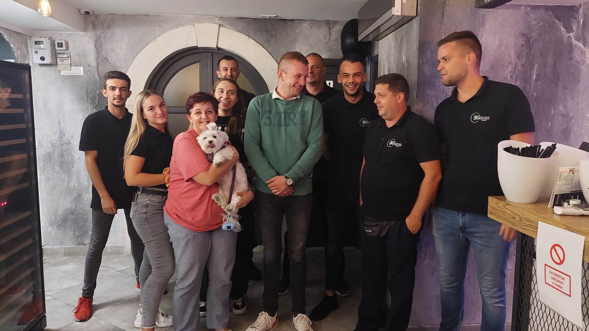 Tea Gojak s kolegama