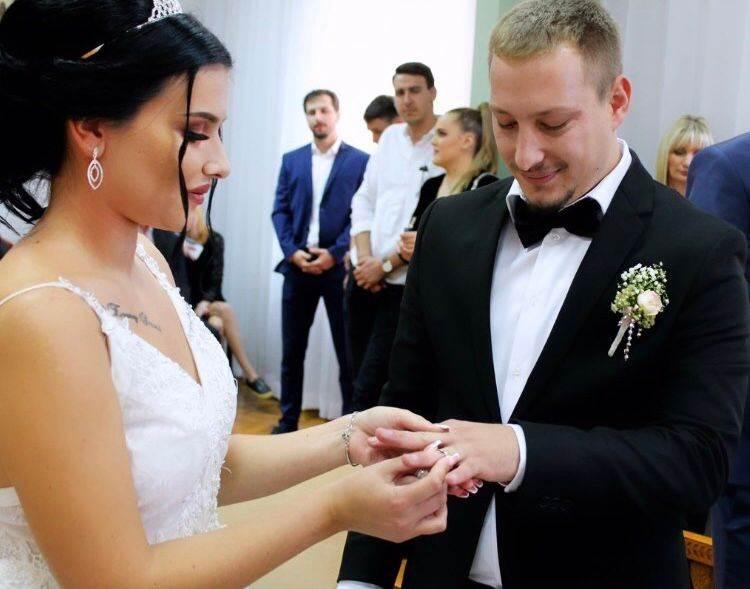 Marin Pavletic sa suprugom Andreom