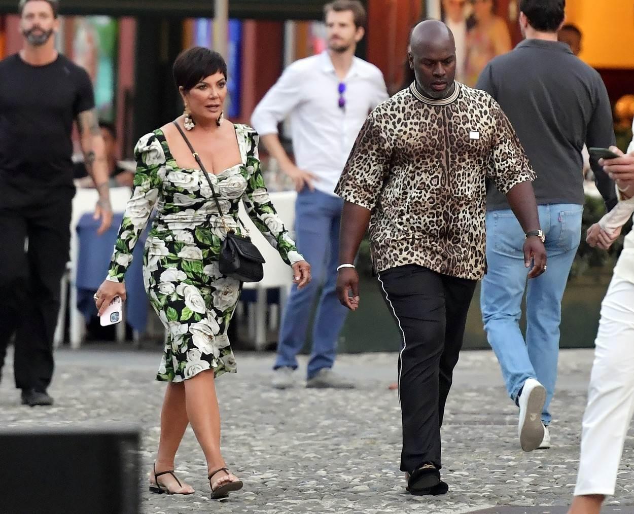 Kris Jenner i Corey Gamble u Portofinu