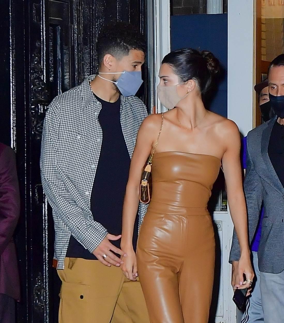 Kendall Jenner i Devin Booker