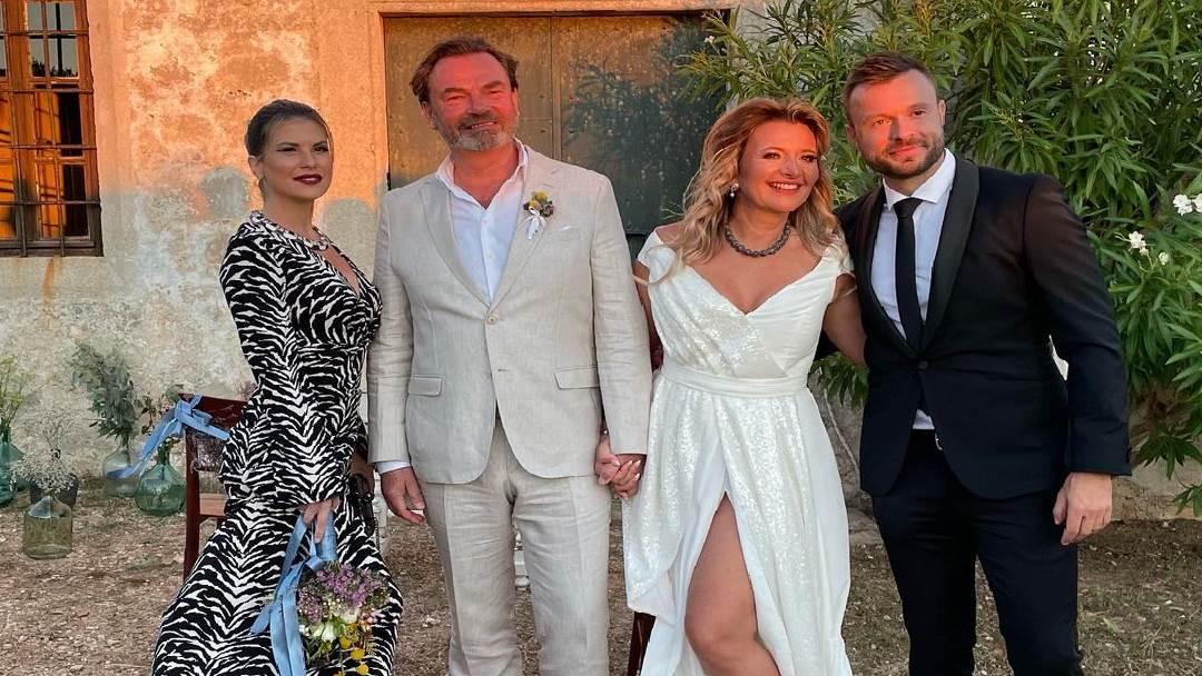 Vjenčanje Snježane Mehun i Franza Schillingera