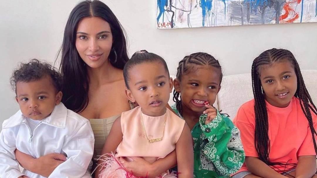 Djeca Kim Kardashian