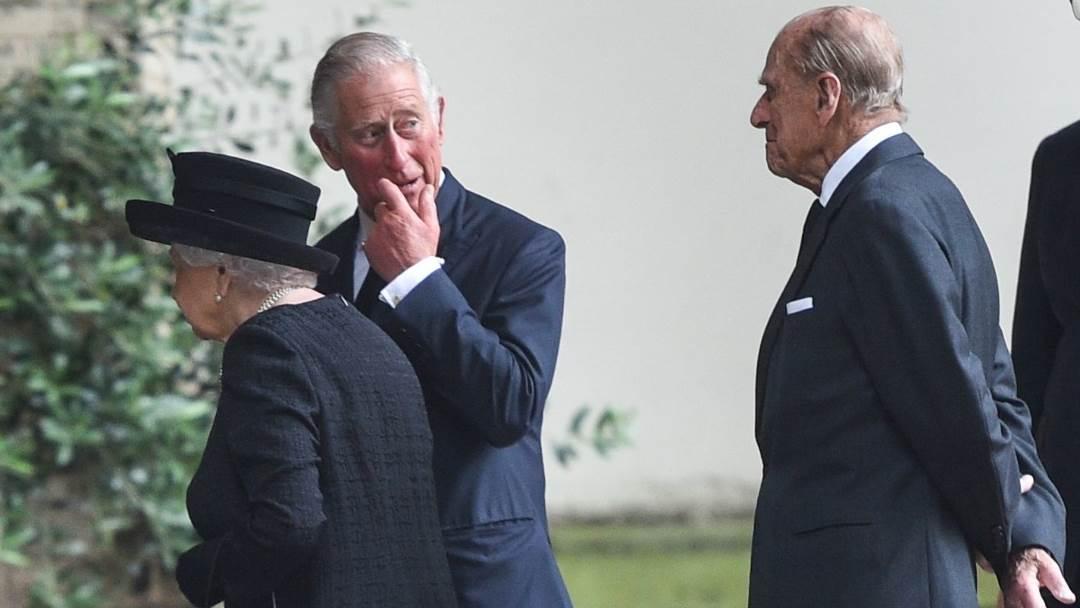 Princ Charles i princ Philip