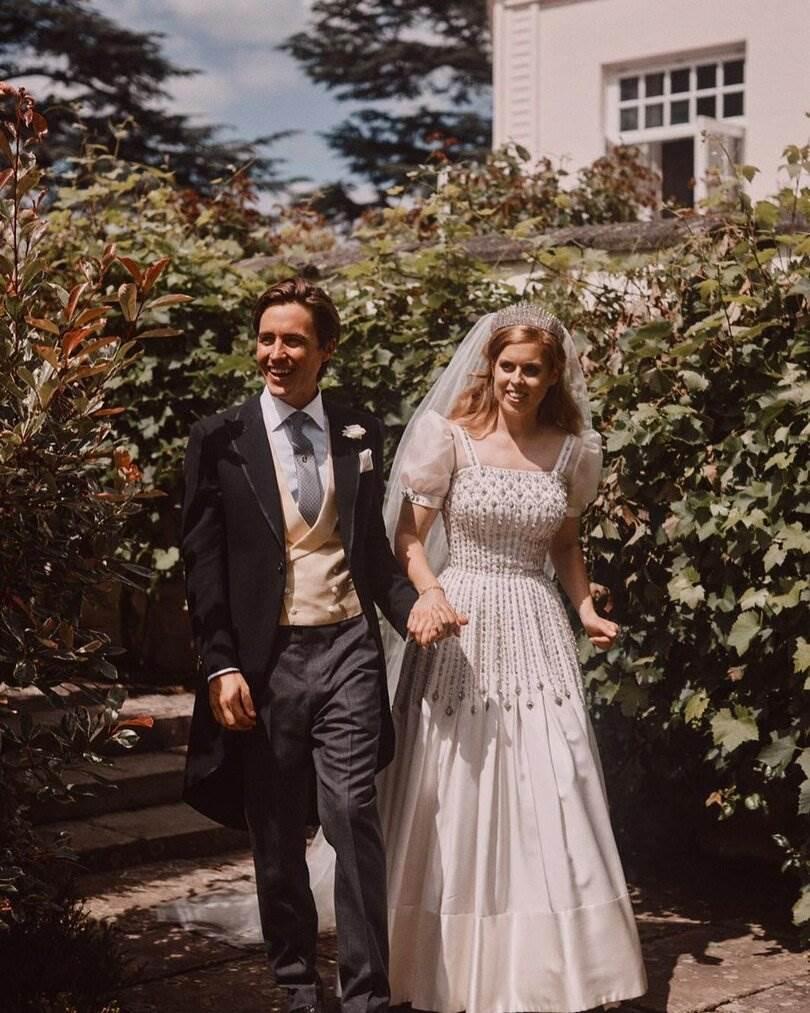Princeza Beatrice i suprug Edoardo