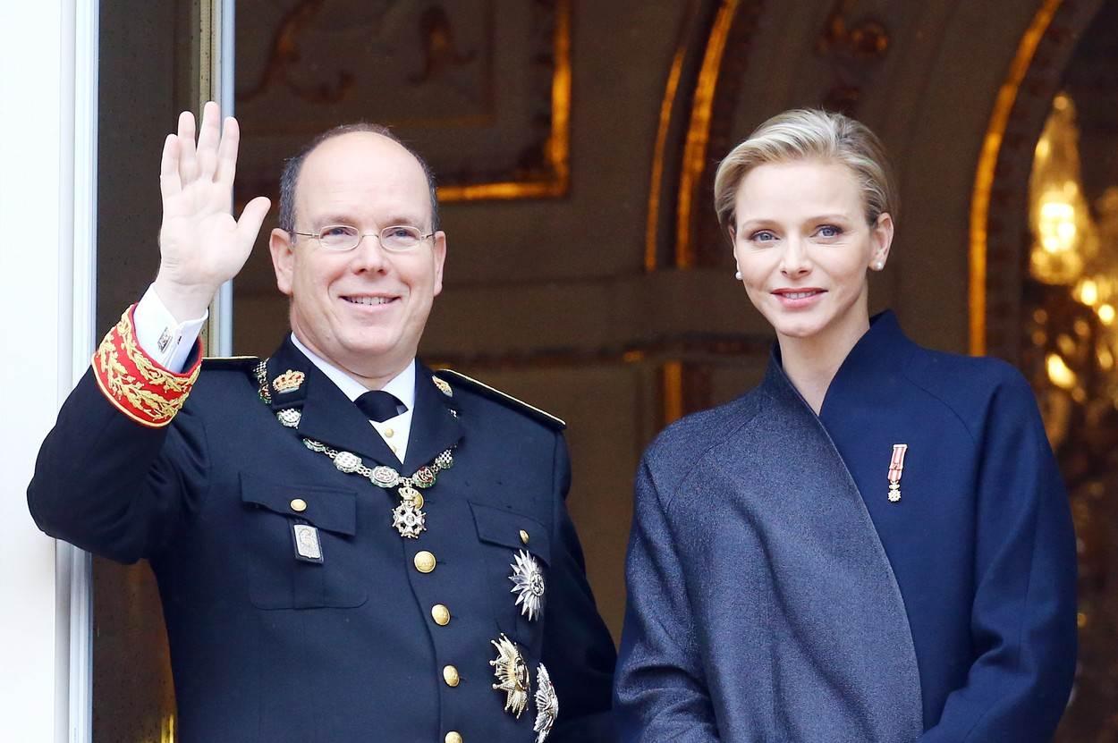 Princ Albert i princeza Charlene