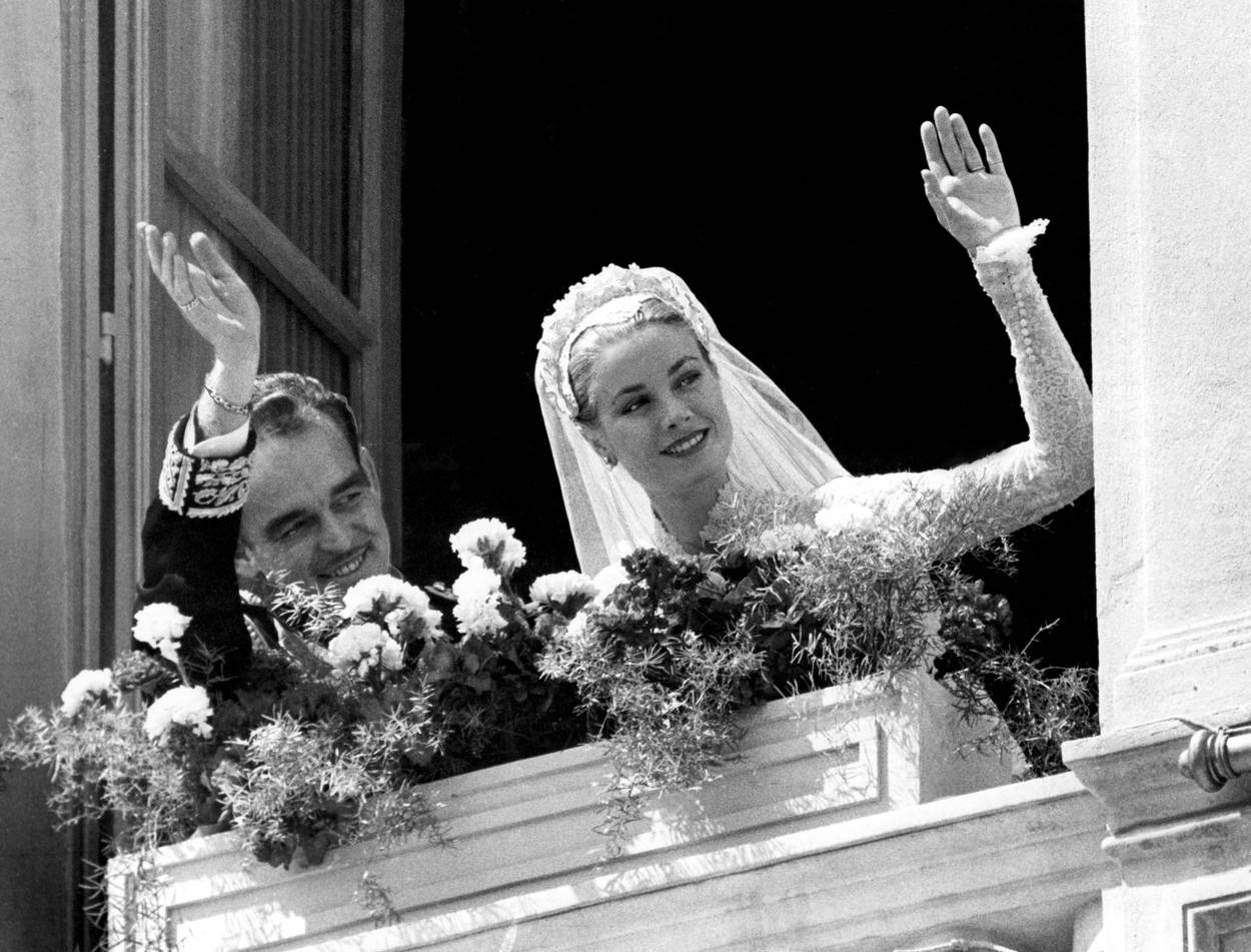 Grace Kelly i princ Rainier III