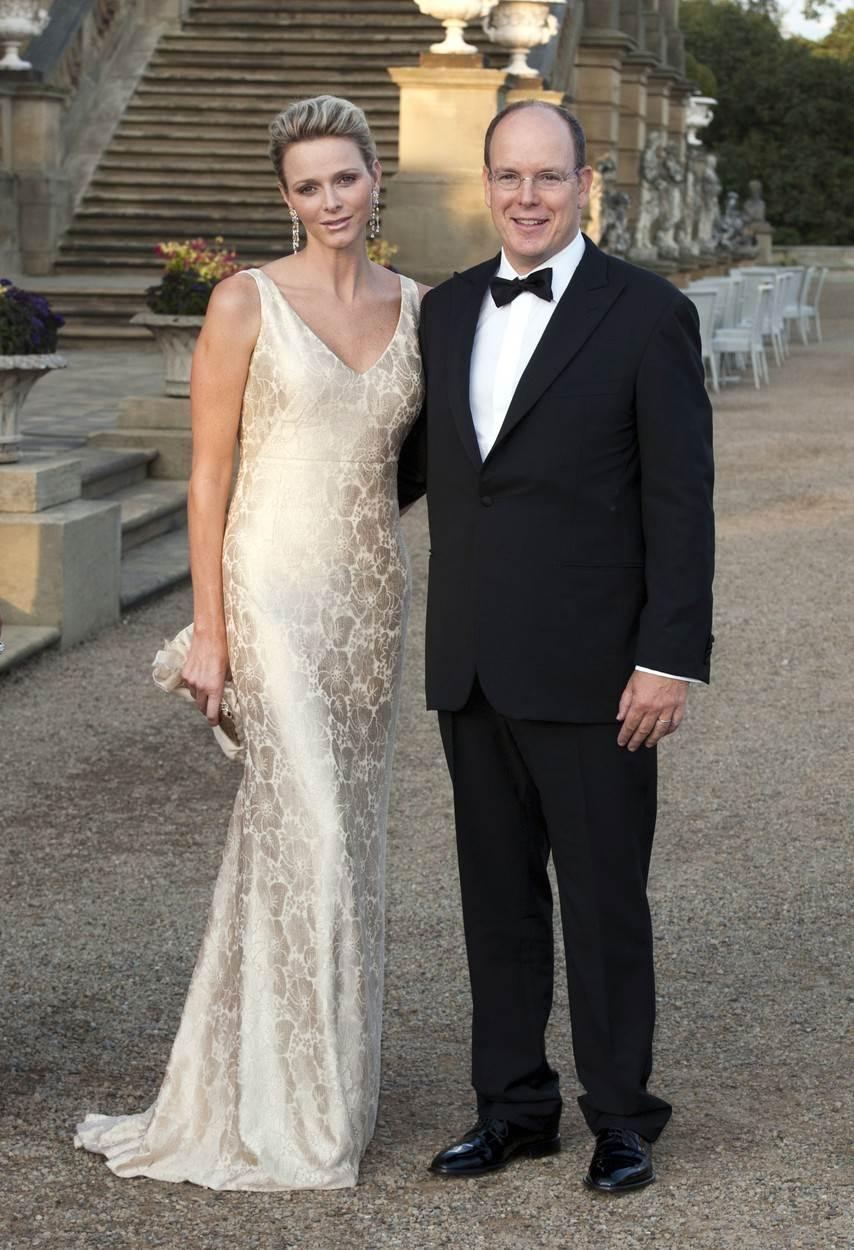 Princ Albert II i Charlene