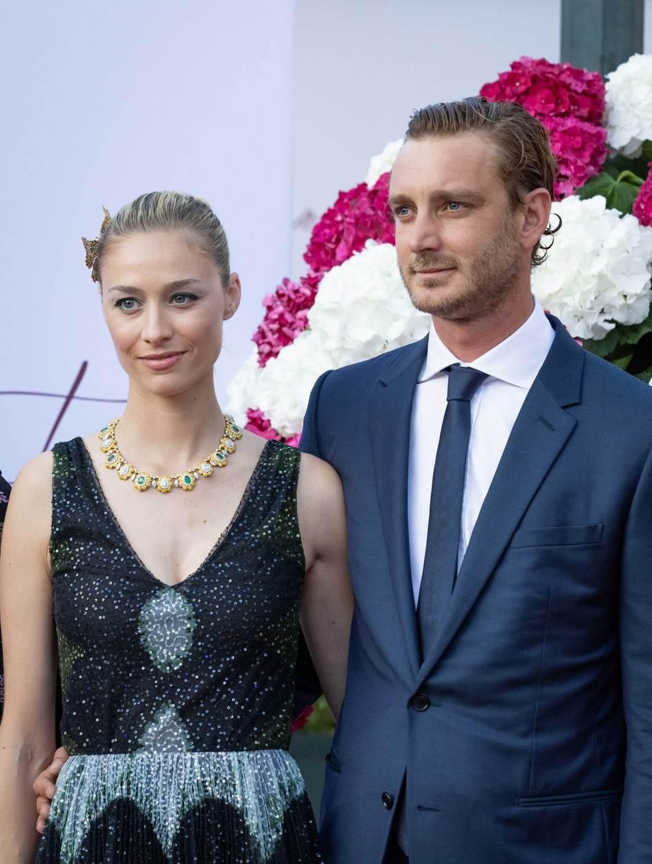 Andrea Albert Pierre Casiraghi i Tatiana Santa Domingo