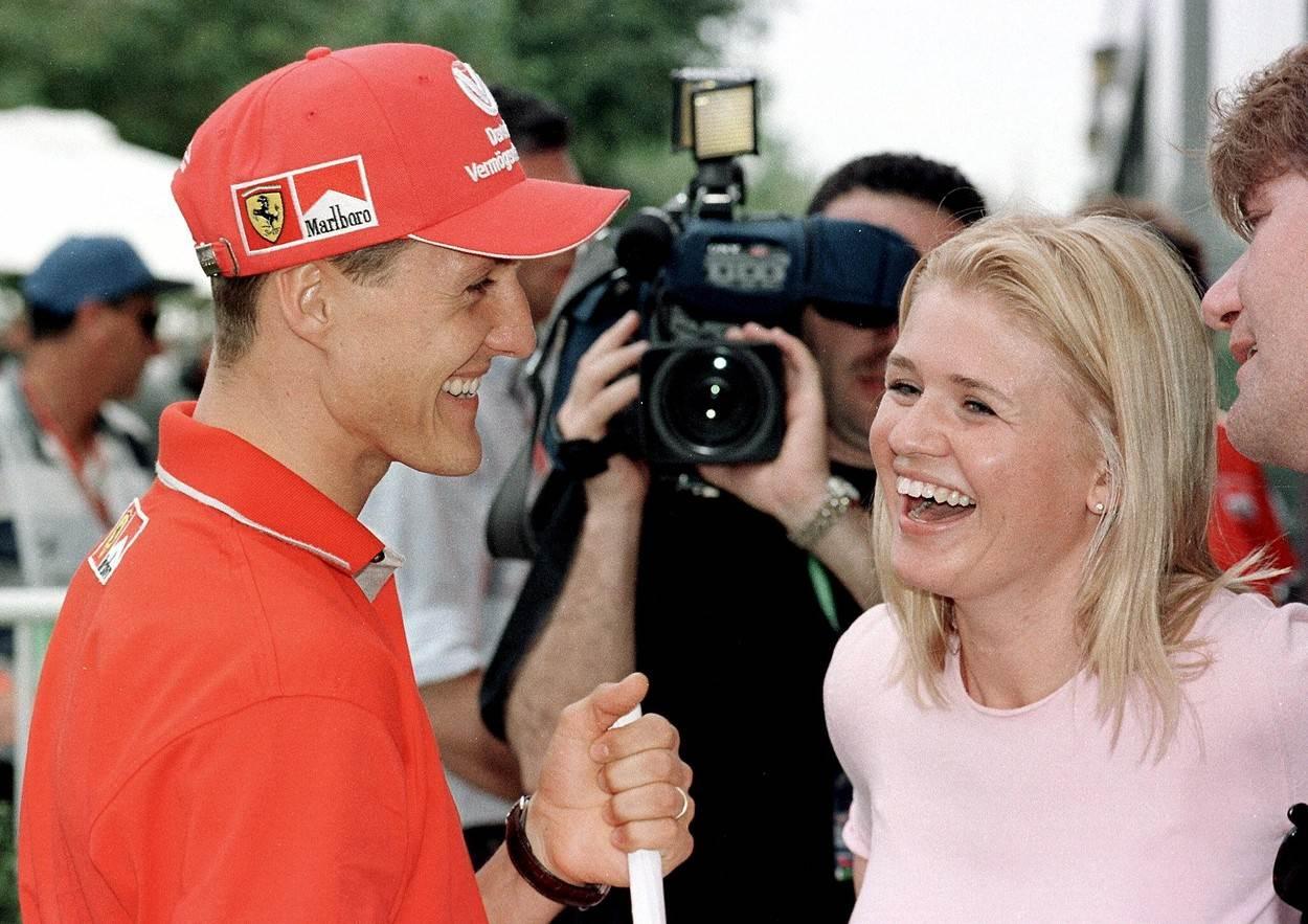 Michael i Corinna Schumacher