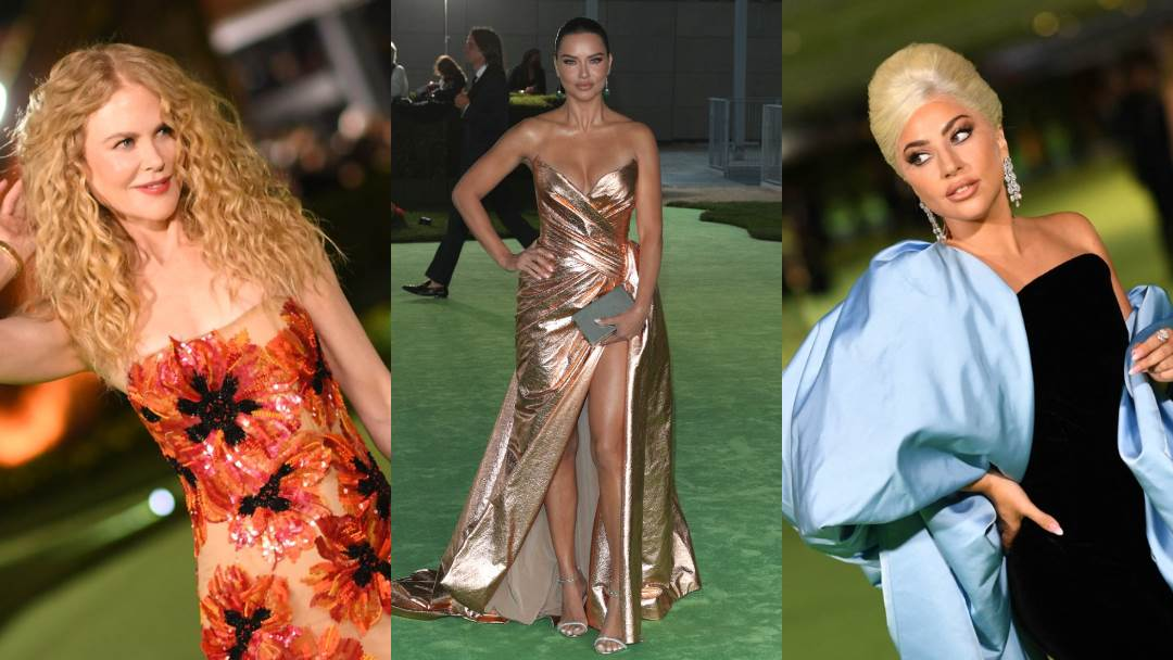 Lady Gaga, Nicole Kidman, Adriana Lima