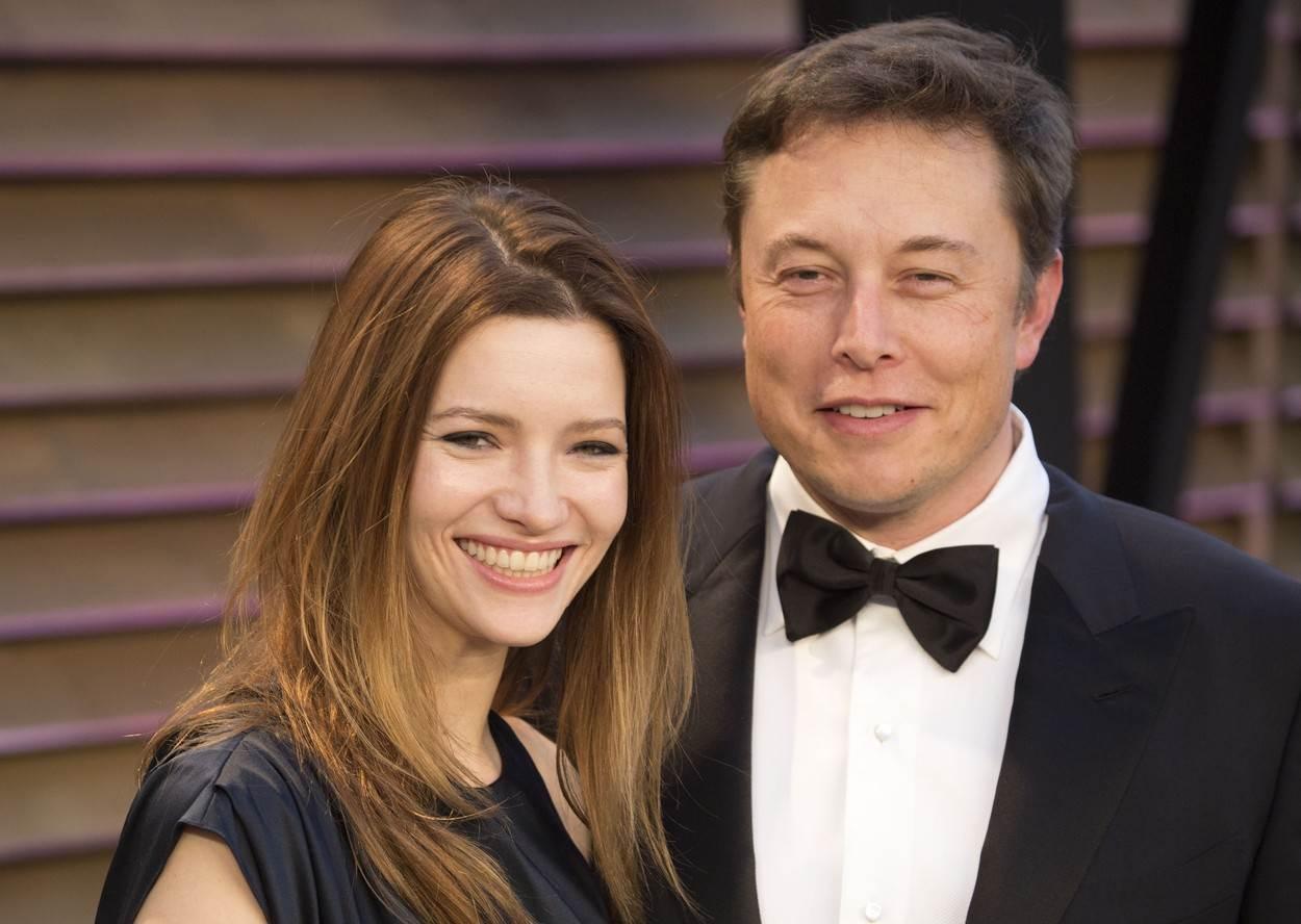 Elon Musk i Talulah Riley