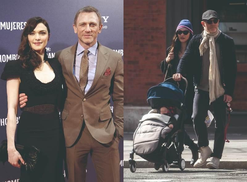 Daniel Craig i Rachel Weisz