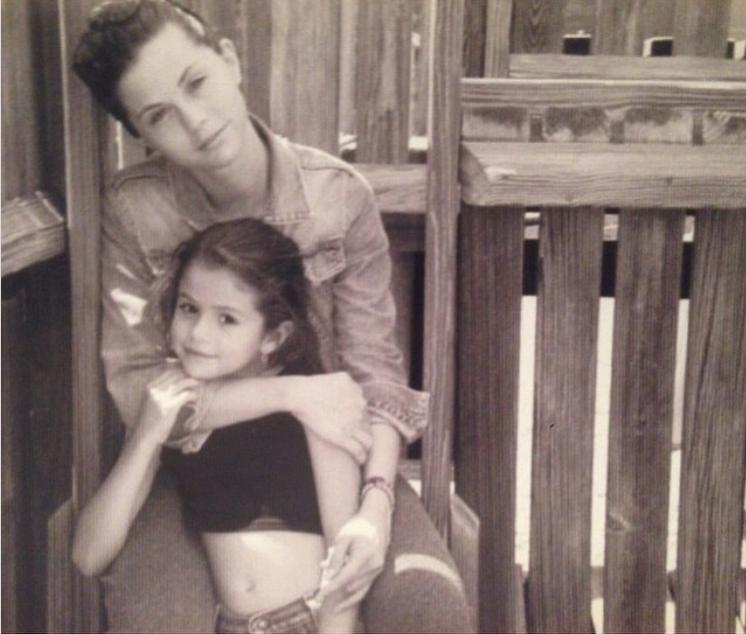 Selena Gomez i Mandy Teefey