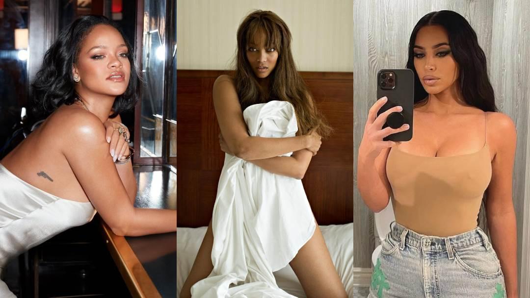 Rihanna, Tyra Banks, Kim Kardashian