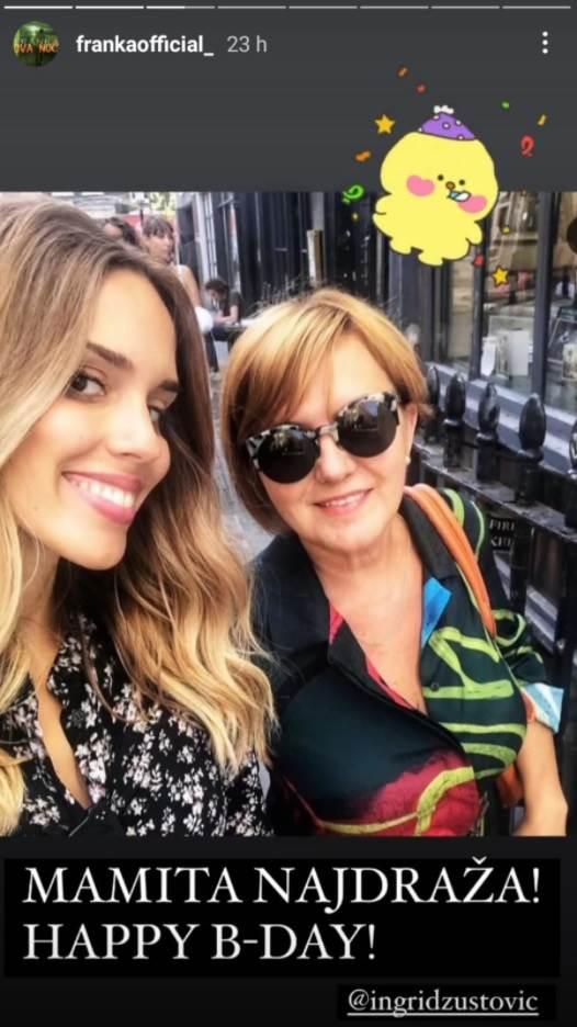 Franka Batelić i majka Ingrid Zustović