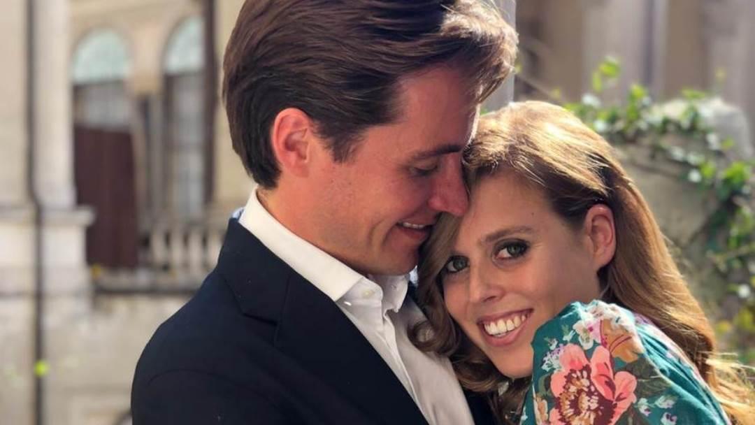 Princeza Beatrice i Edoardo Mapelli Mozzi