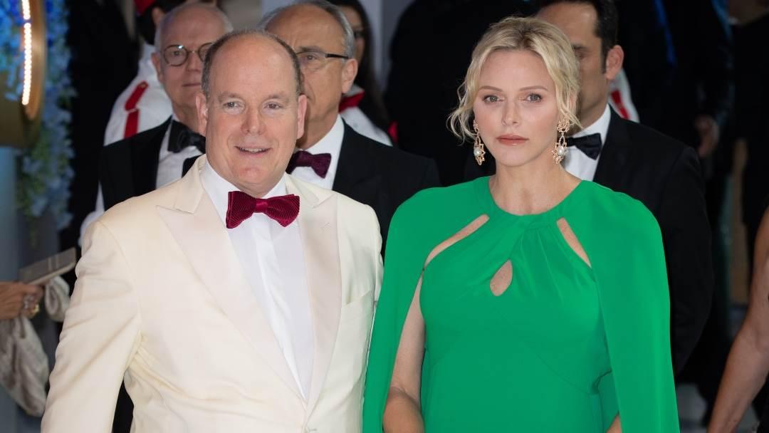 Princeza Charlene i princ Albert II.