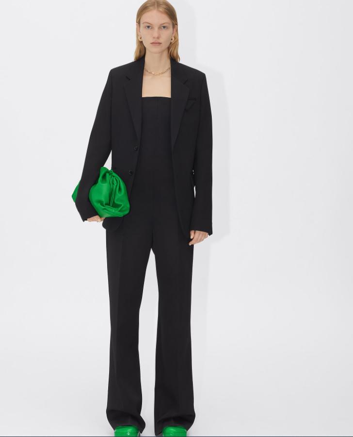 zelena torbica Bottega Veneta