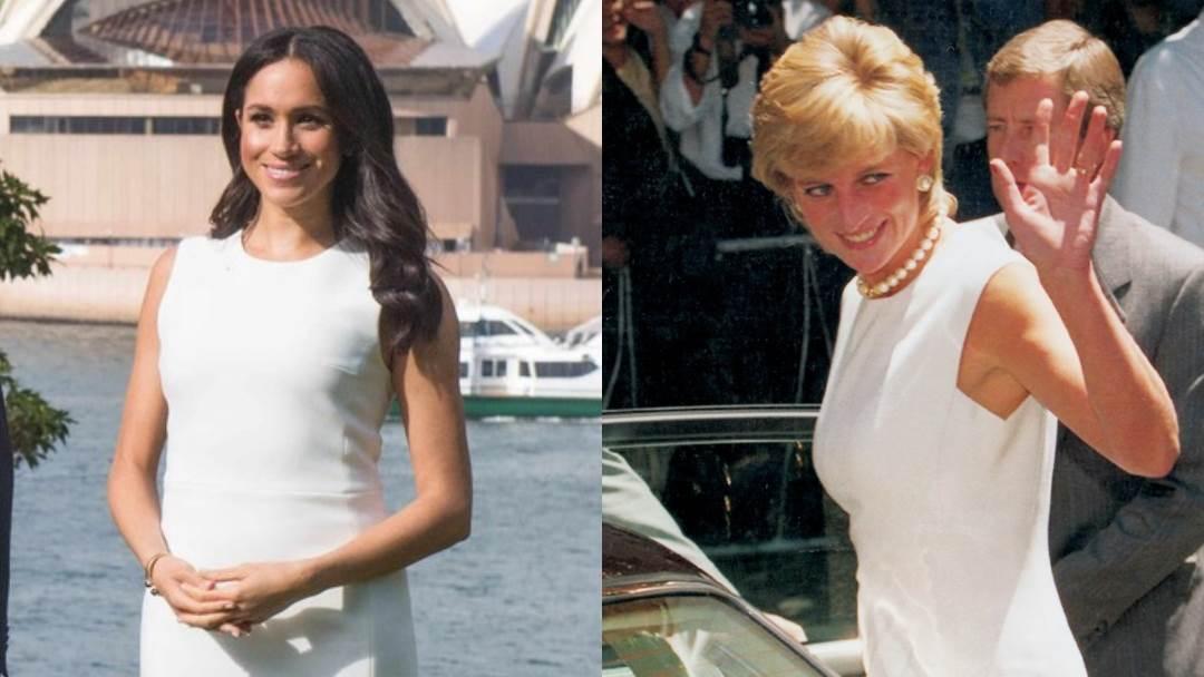 Princeza Diana i Meghan Markle