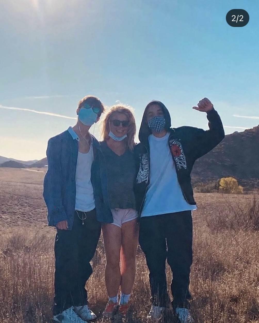 Jayden James, Sean Preston i Britney Spears - Profimedia