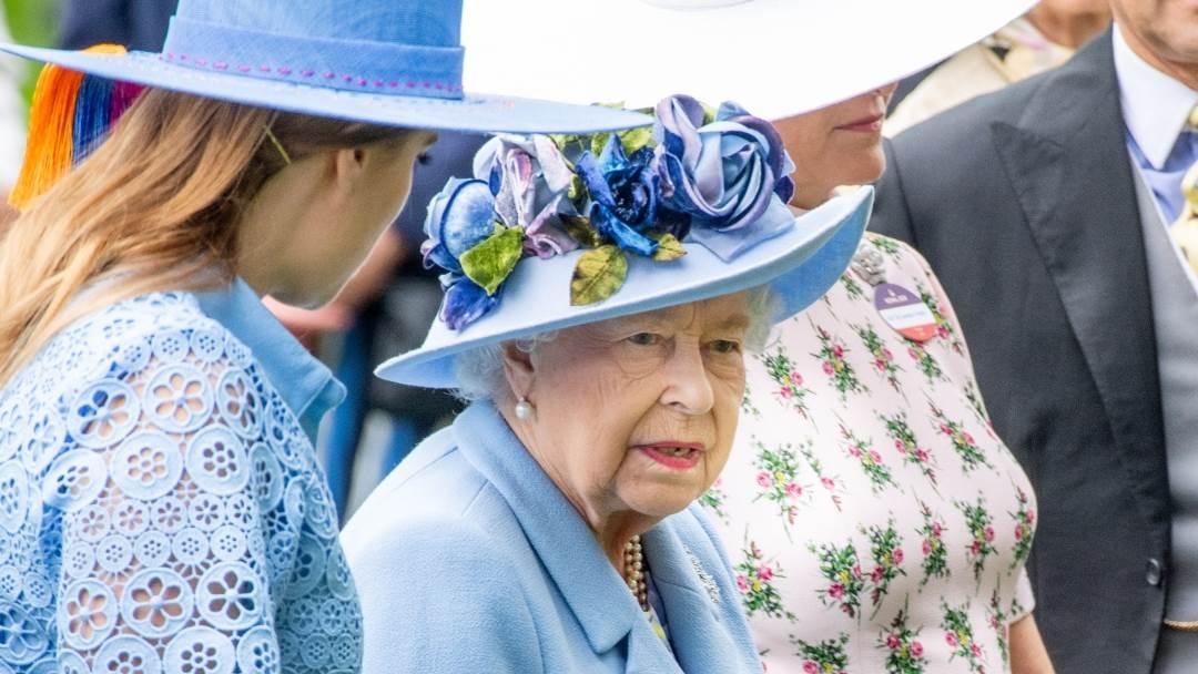 Kraljica Elizabeta II. i princeza Eugenie