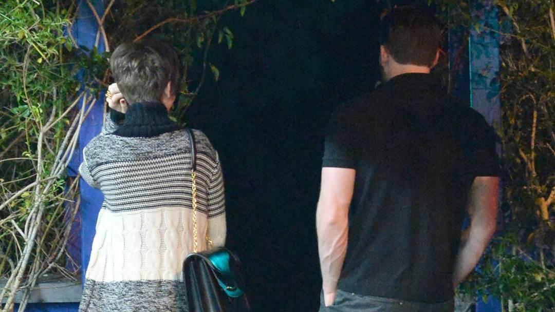 Lily Collins i Chris Evans