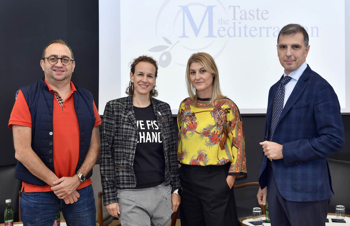 Chef Lionel Levy, Petra Boić Petrač, Suzana Musa i Francesco Pantalone