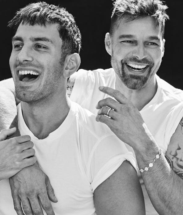 Ricky Martin i Jwan Yosef
