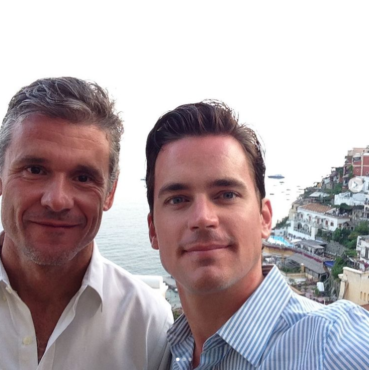 Matt Bomer i Simon Halls